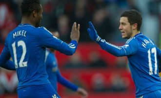 Mikel labels Eden Hazard 'the laziest player I've ever played with'