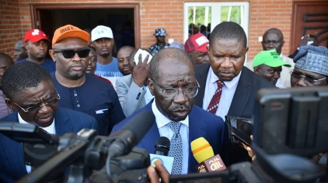 VIDEO: I'm not sure we would have been attacked if we visited PDP chairman, says Obaseki