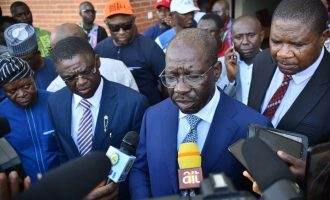 Oshiomhole remains suspended, says Obaseki on Edo APC crisis