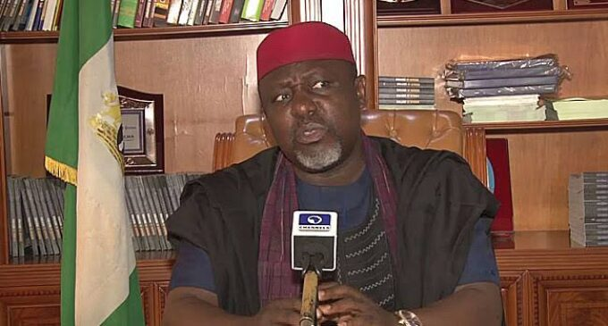 Okorocha: Imo set up seven probe panels to blackmail me and my family