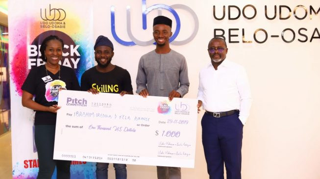 Nigerian entrepreneur wins $1,000 Black Friday pitch competition grant