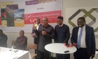 Nigeria isn't doing well because we don't invest in education, says Peter Obi at Onwuka's books launch