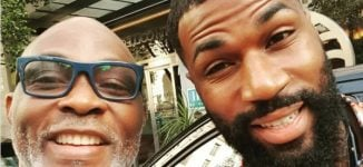 RMD thrilled to be Mike Edwards' dad on his Nollywood debut
