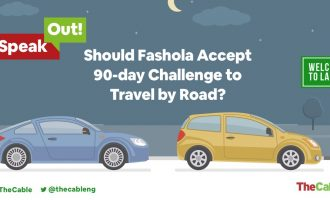 The road trip challenge: Will Fashola accept it or not?