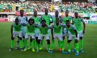 Nigeria moves up in FIFA rankings, now 29 in the world