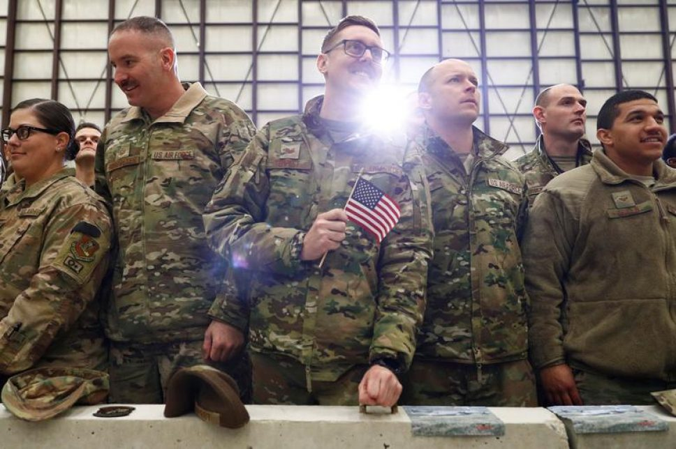 Trump spends thanksgiving with US troops in Afghanistan