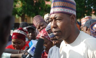 Zulum: Borno people haven't lost hope in Buhari