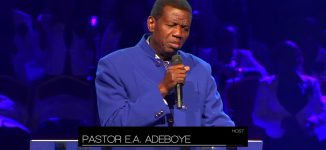 When Adeboye took 'God's Fire' to Manchester, Ireland