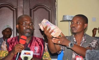 Collation officer in Kogi presents 'N50k bribe' offered by politicians