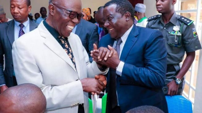 Lalong taunts Useni: Your daughter should have contested against me — she was my classmate