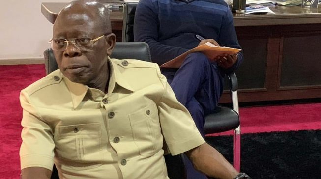 Image result for KANO COURT RESTORES OSHIOMHOLE AS APC NATIONAL CHAIRMAN