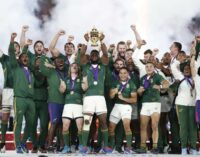 South Africa beat England to win Rugby World Cup