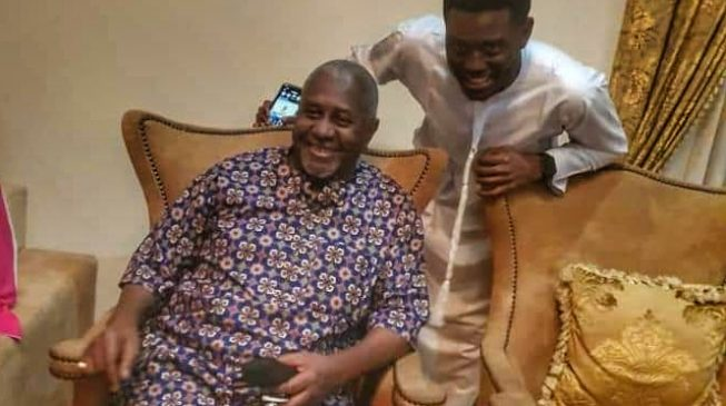 VIDEO: The moment Dasuki walked into his house for the first time in 4 years