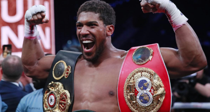 Joshua to defend heavyweight titles against Usyk Sept 25