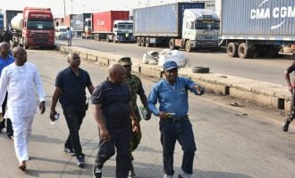 Task force on Apapa gridlock challenges any driver who has spent days on the road to speak up