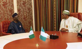 PHOTOS: Buhari hosts Tunde Bakare at Aso Rock