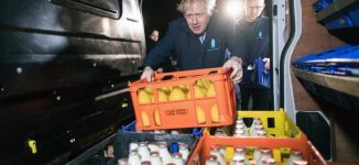 TRENDING VIDEO: Boris Johnson shares food items before election