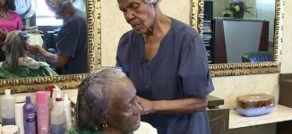 Meet Callie Terrell, oldest beautician who keeps styling hair at 101