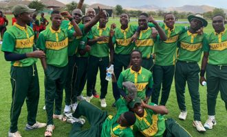 Nigeria's cricket team arrives Lagos after historic World Cup debut