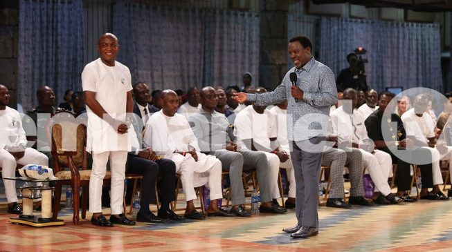 Lyon, Bayelsa governor-elect, visits TB Joshua at Synagogue