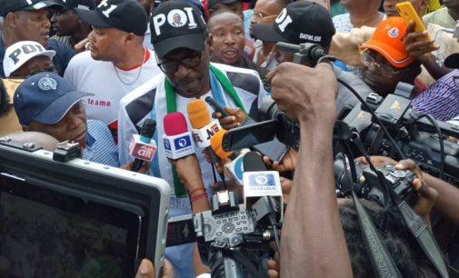 Ize-Iyamu: Those who brought Obaseki from nowhere have the right to look elsewhere