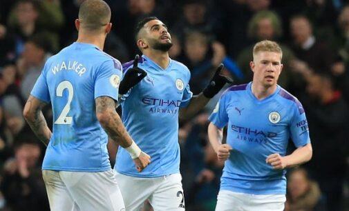 Mahrez scores in Man City comeback win over Leicester