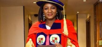 Omotola bags honorary doctorate degree from Igbinedion University