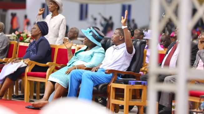 Adeboye speaks on the voice of inspiration on day 3 of RCCG congress