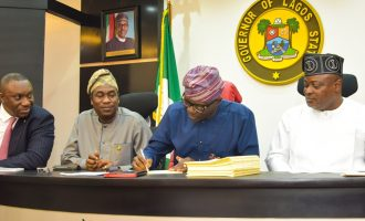 Sanwo-Olu promises accountability as he signs 2020 budget into law