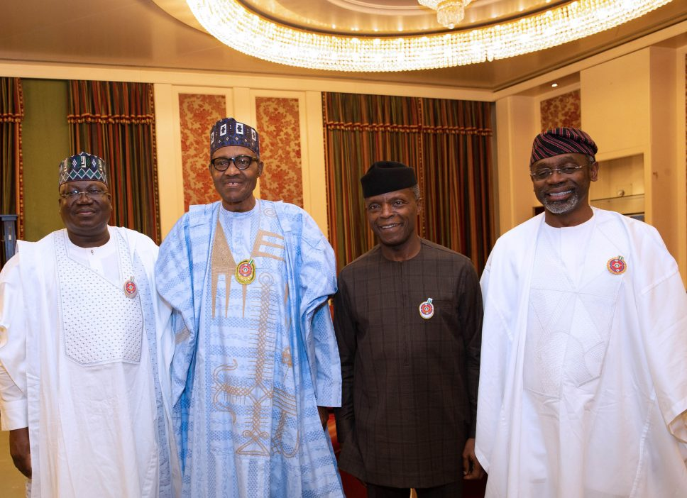 Birthday celebration, budget signing… photos from Aso Rock