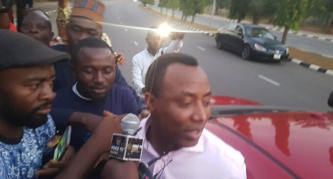 Finally, DSS releases Sowore