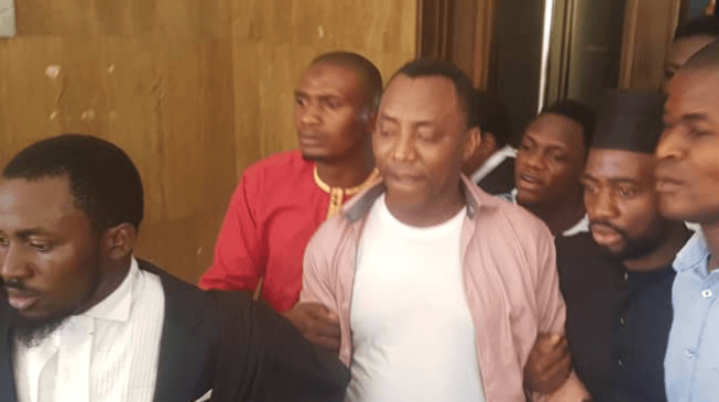 We didn't arrest Sowore in court — his supporters were only acting, says DSS
