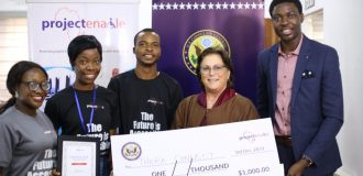 Thera Connect wins $1,000 in Project Enable Africa, US Consulate PWD hackathon