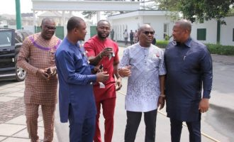 VIDEO: Wike presents SUVs to Rivers lawmakers — 24 hours after passing budget