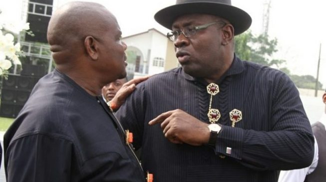 Wike: Dickson concluded plans to join APC but Sylva blocked him