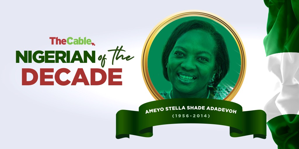 TheCable names Stella Adadevoh as 'Nigerian of the Decade' - TheCable