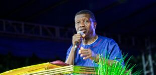 'Don't cry for Dare' — Adeboye breaks silence as son is buried