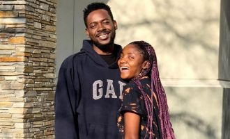'I don't like when people couple-goals us' — Simi, Adekunle Gold celebrate first wedding anniversary
