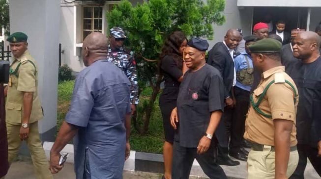'Please, don't handcuff me. I will follow you' — Kalu befriends prison warders after jail sentence