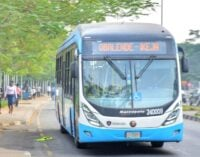 Lagos deploys 65 buses on roads affected by okada ban