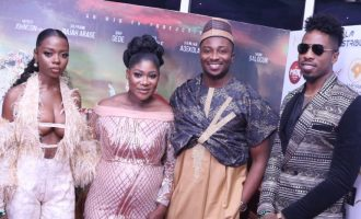 PHOTOS: Denrele Edun, AY, Diane Russet dazzle at 'The Legend of Inikpi' premiere