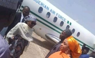 'It's abuse of power' — outrage over Buhari's daughter flying presidential jet to private event