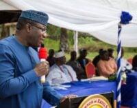'Amotekun' is not regional police, says Fayemi