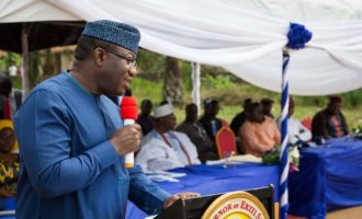 'Amotekun' is not regional police, says Fayemi