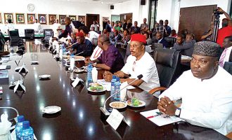 Monarchs stage walkout as IGP meets with south-east governors