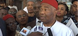 Uzodinma describes PDP protest as an attempt to overthrow Buhari