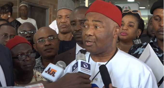 Uzodinma: PDP behind plot to humiliate Oshiomhole out of office