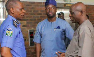 Makinde meets with IGP over Amotekun, LG crisis
