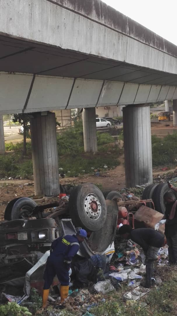 Two die as tanker collides with SUV on Otedola bridge
