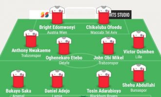 Akpeyi, Osimhen, Mikel… TheCable's team of the week